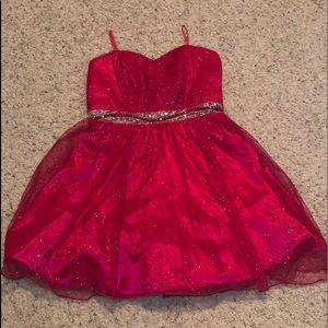 Dresses & Skirts - red sparkly dress